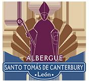Albergue Santos Tomas de Canterbury Logo